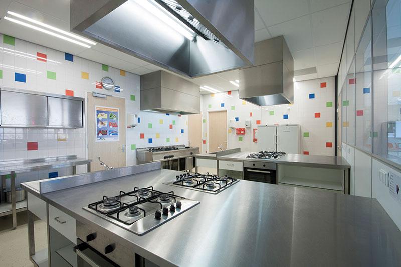 Vechtdal College keuken sfeerfoto 3